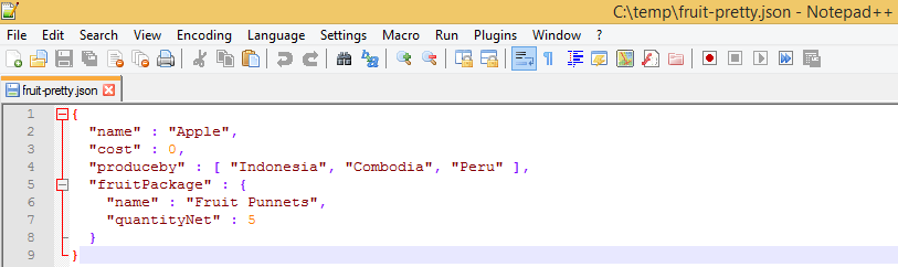 Convert JavaObject To Json Example pretty