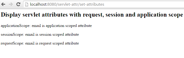 Servlet Request Session Application Scope Attributes width=