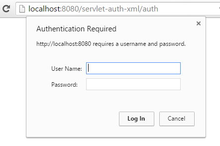 Servlet-Basic Authentication Web.Xml Configuration