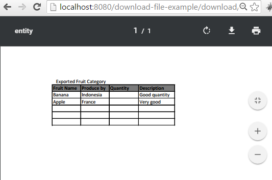 spring mvc download file example inline