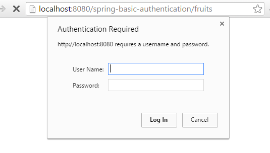 Spring Security Basic Authentication Example using Annotation json