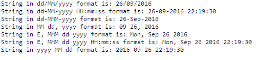 Convert Date to String in Java