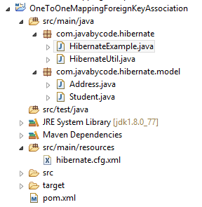Hibernate One-To-One Mapping Example using Foreign key Annotation