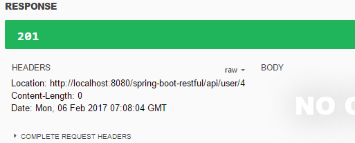 Spring Boot Restful Web Services Example