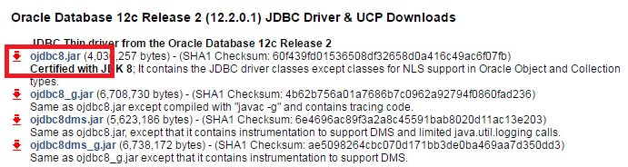 how to add Oracle JDBC driver into Maven (ojdbc8.jar and ojdbc7.jar)