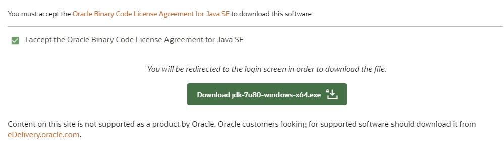 Download & Install JDK 7 on Windows
